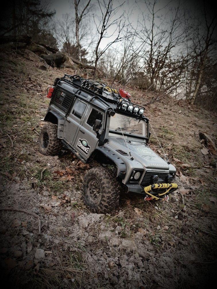 Traxxas Trx4 Landrover Defender Rc Cars Traxxas Rc Cars Rc Jeep