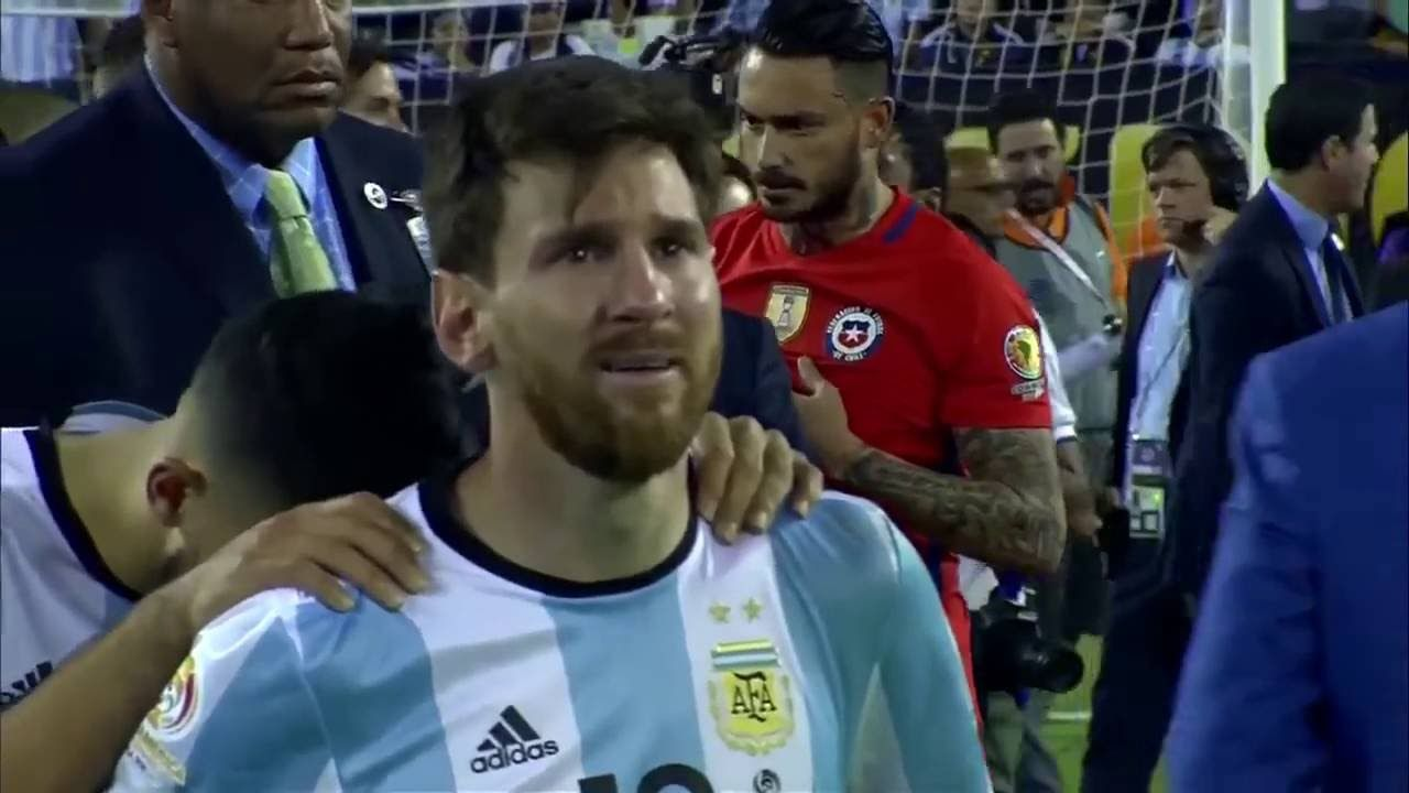 Lionel Messi emotional Crying Emotional Video sports Messi, Lionel messi, Sports