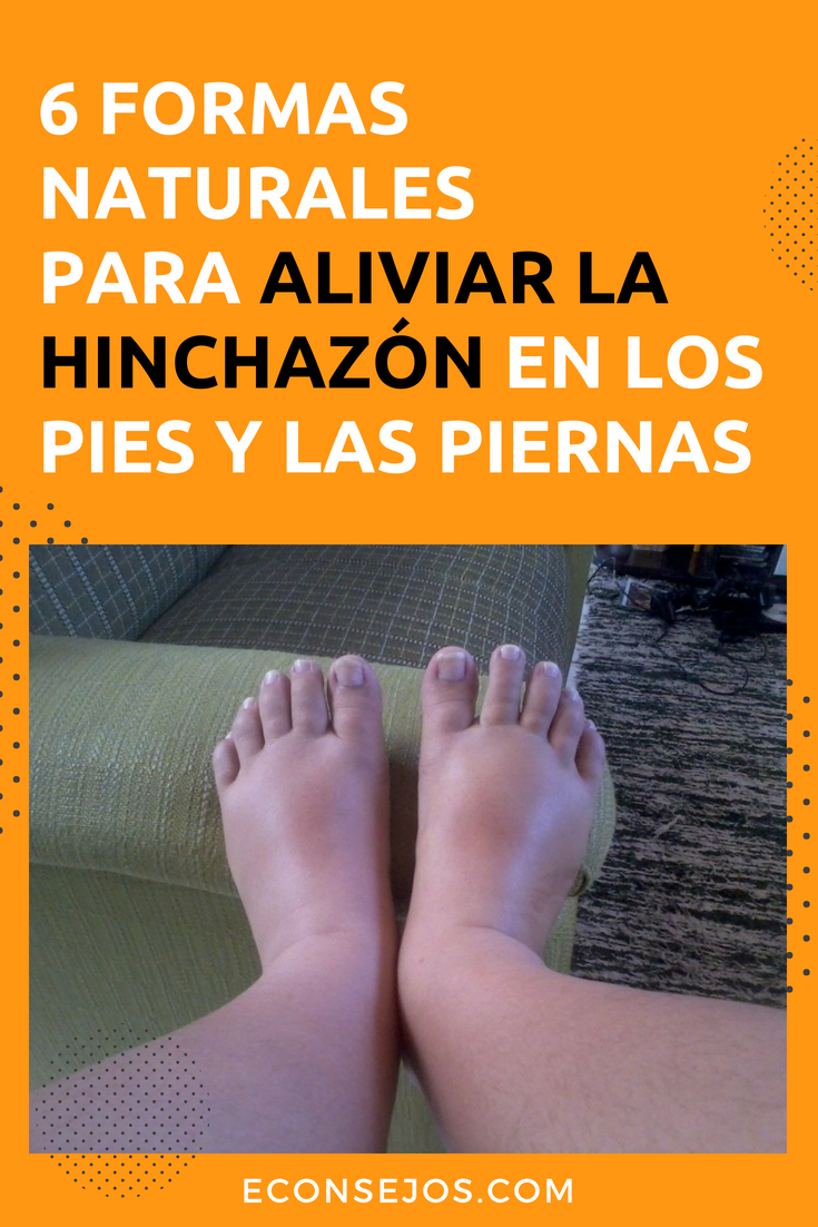 Dolor de piernas y pies hinchados