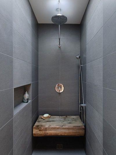 Bank In Der Dusche