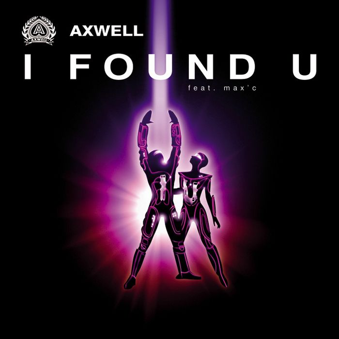 Axwell, Max'C – I Found You (single cover art)