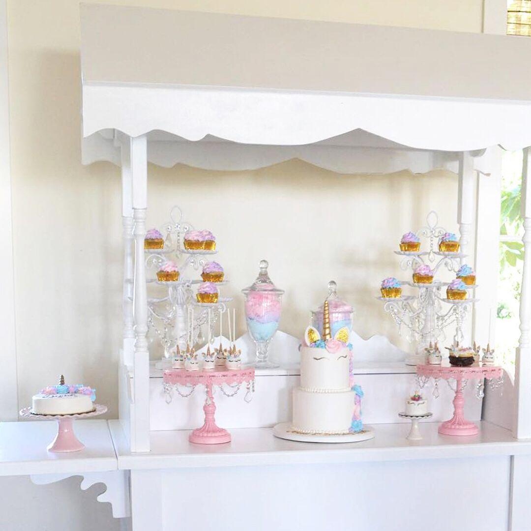 Pink Unicorn Candy Cart Unicorn Dessert Table Unicorn Desserts Dessert Table