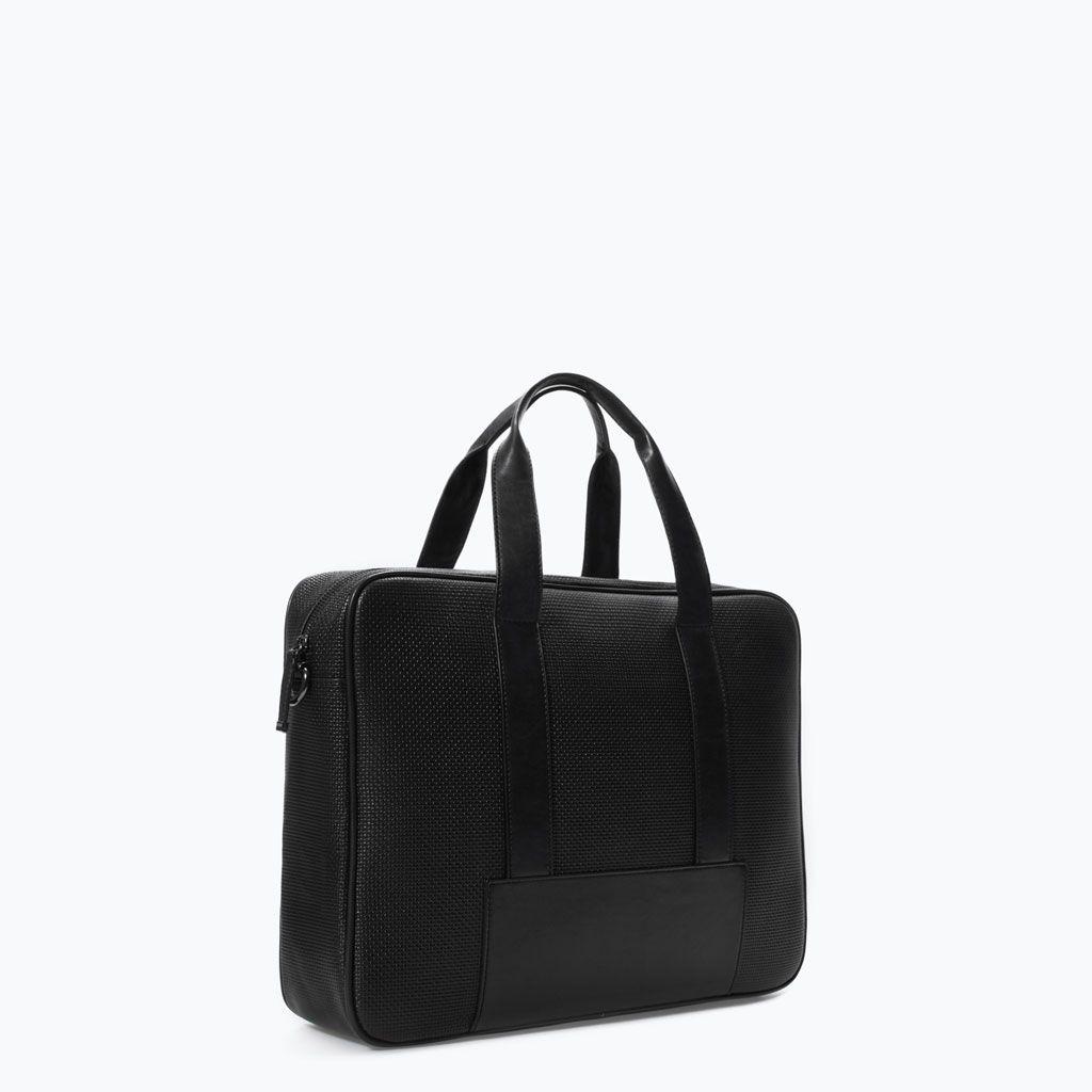d3803e6e7f Office Bag - Zara - 49,95 | MAN | Bags, Zara, Gym bag