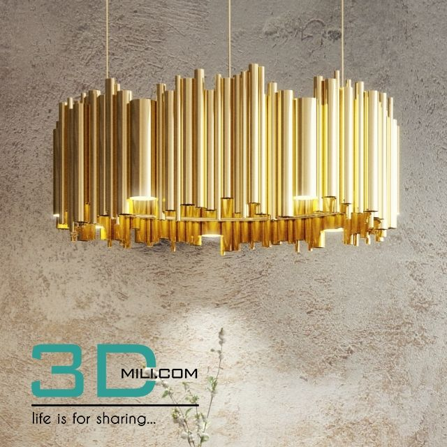 303  Ceiling light 303 3D Models Free Download | 3D objects