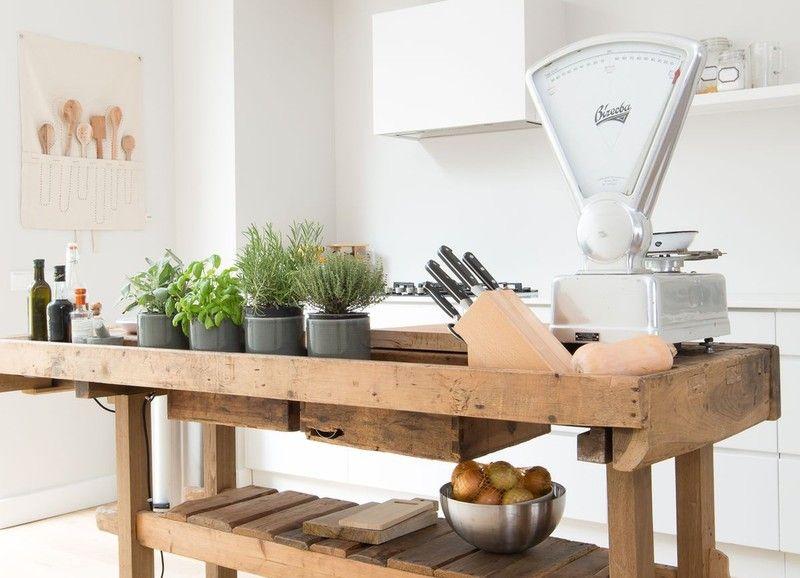 Yay or nay een werkbank in de keuken keukens for Minimalistische wohnungseinrichtung