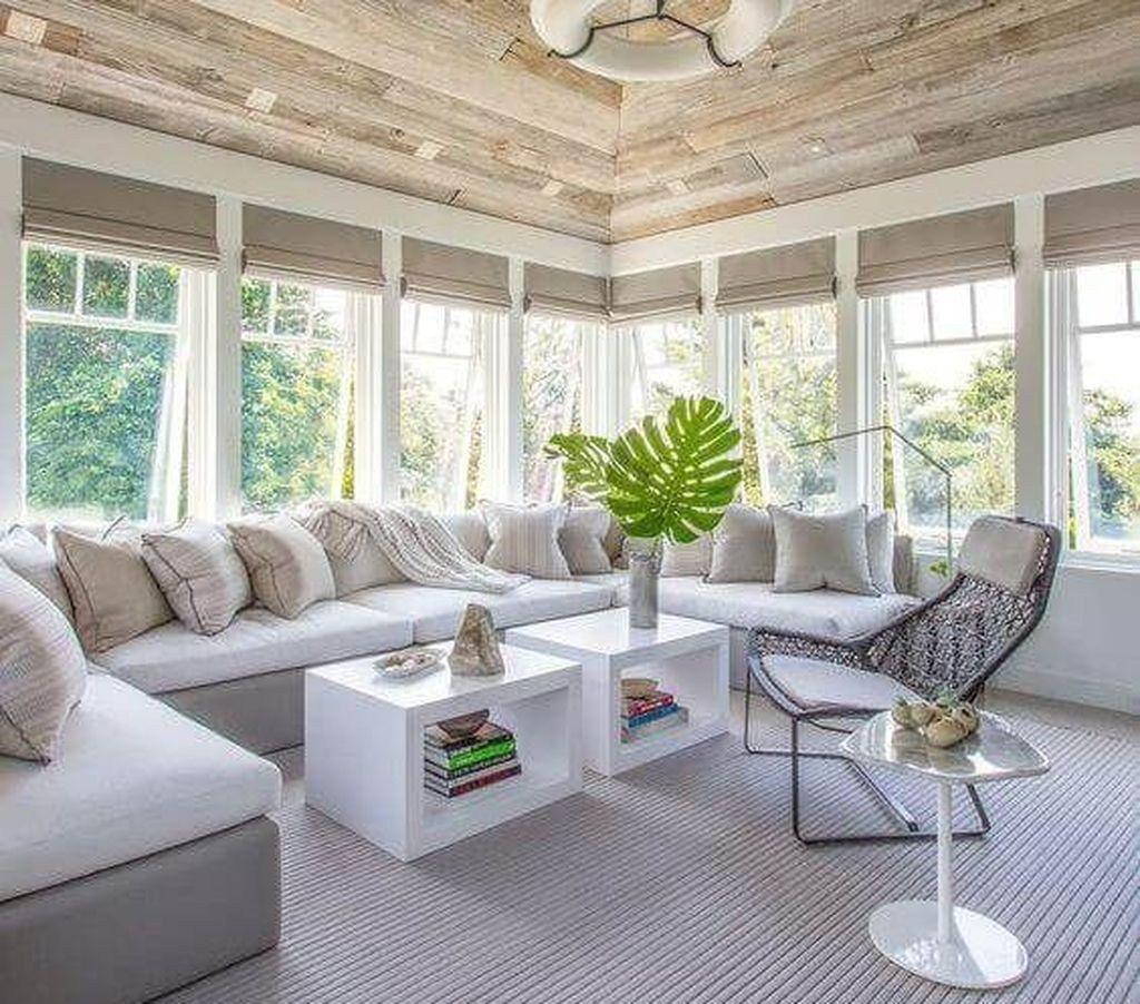 48 Cool Sunroom Design Ideas Sunroom Decorating Rustic Sunroom Sunroom Furniture