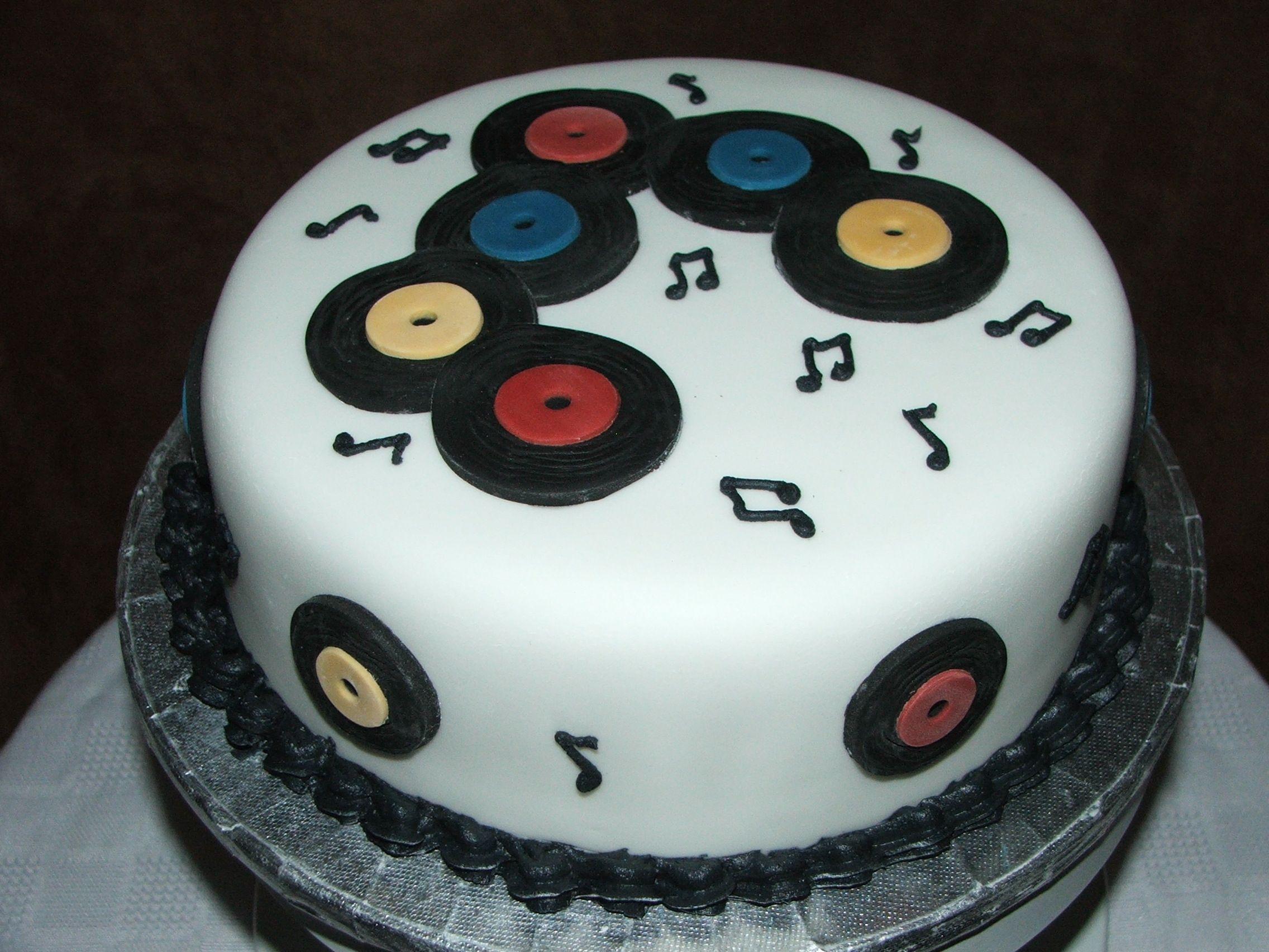 Dj Cake In 2019 Birthday Cake Dj Cake Disco Cake