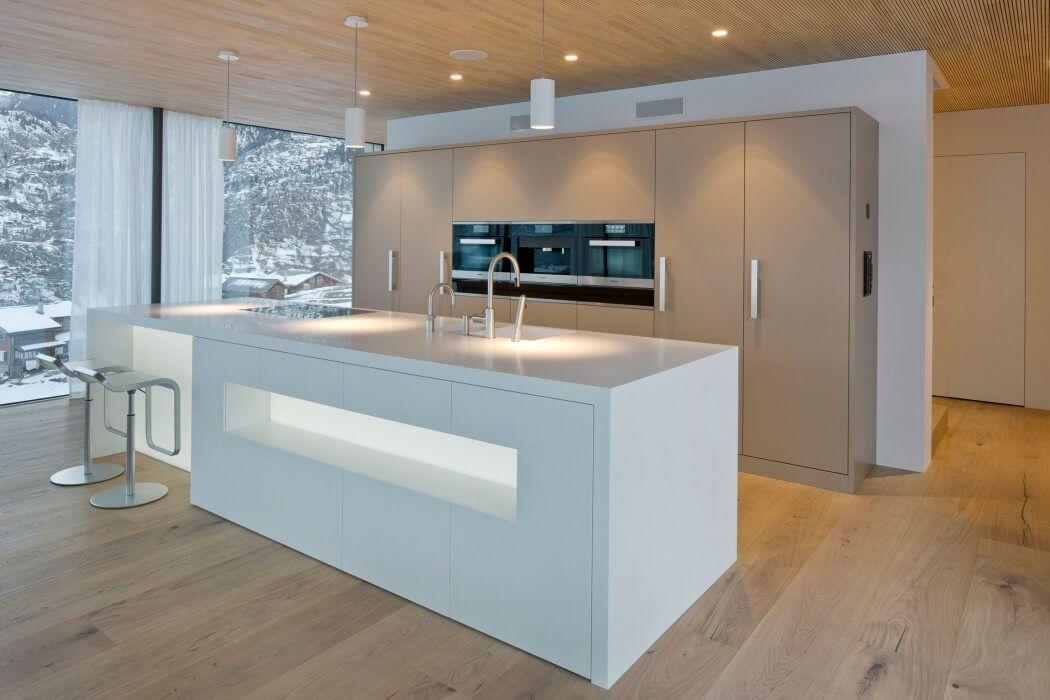House In Termen By Matthias Werlen Architektur Kuchendesign Modern Moderne Kuchenideen Kuchendesign