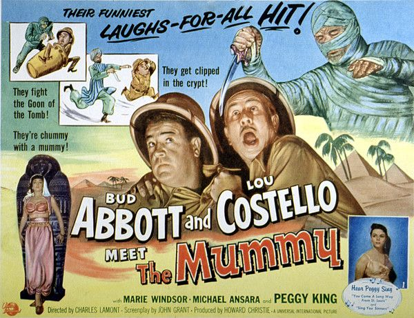 Abbott And Costello Meet The Invisible Man Abbott And Costello Meet The Mummy Lou By Everett In 2020 Abbott Costello The Mummy Original Jekyll Mr Hyde