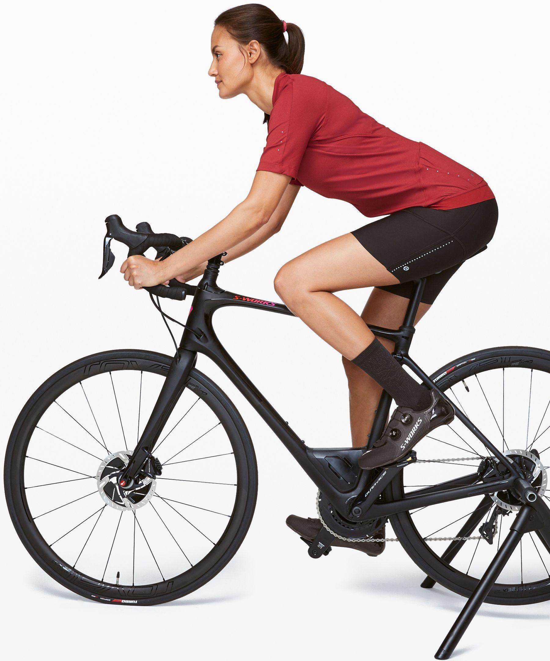 Lululemon Women S City To Summit Cycling Jersey Cayenne Size Xs Women S Cycling Jersey Sleeves Short Sleeves