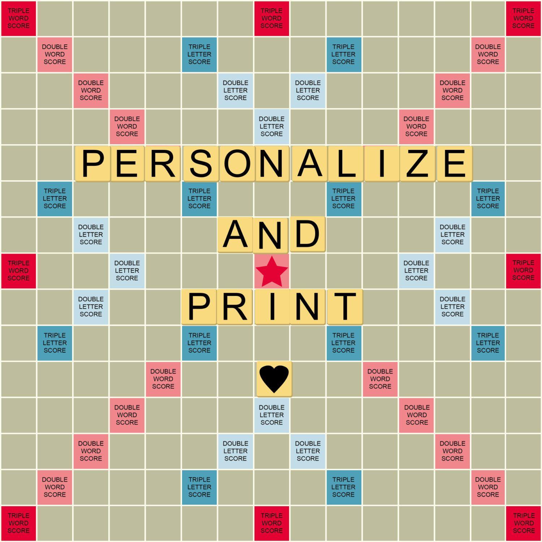 25 Elegant Printable Scrabble Board Template In 2020 Mircosoft