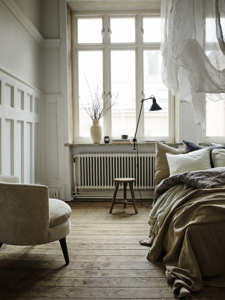 a lovely rustic bedroom schlafen pinterest schlafzimmer skandinavisch wohnen und raumideen. Black Bedroom Furniture Sets. Home Design Ideas
