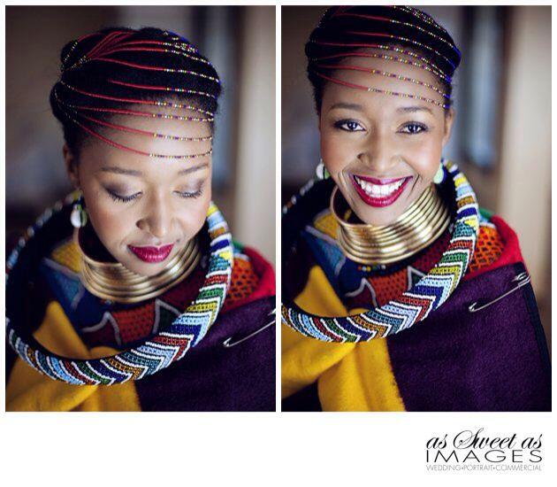 Ndebele Modern Wedding Dress : Ndebele bride traditional weddings