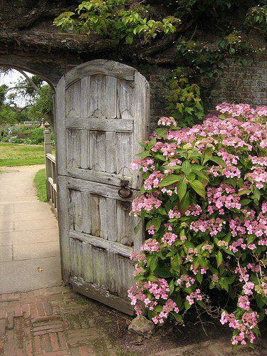 Doorway To The Secret Gardeny Something New Go Through The
