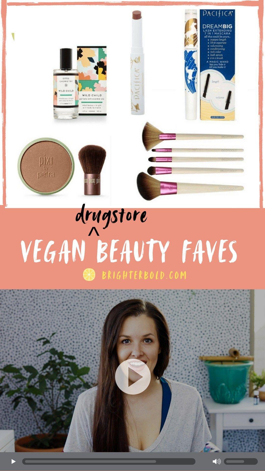 Drugstore Vegan Beauty Faves 🎥 Vegan beauty, Cruelty