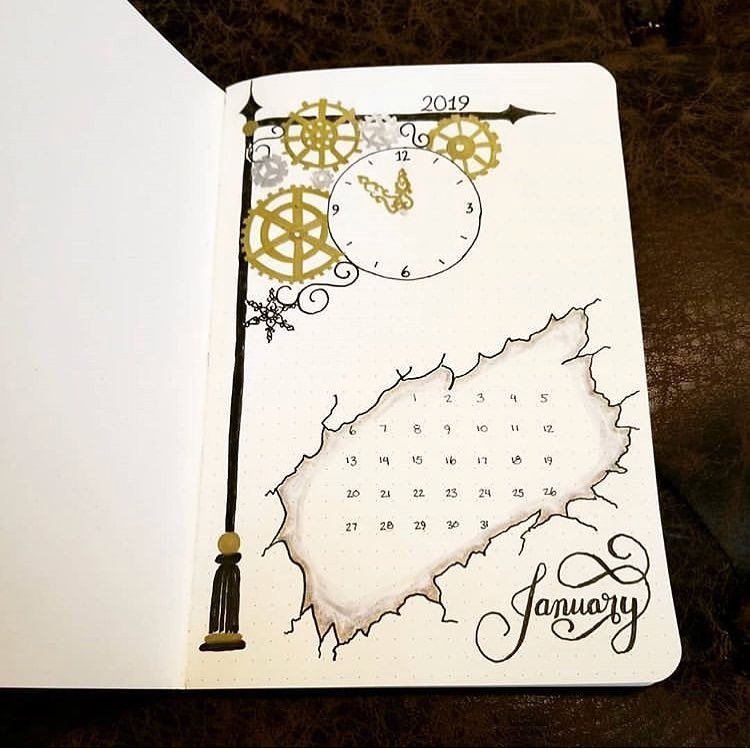 Monthly Bullet Journal