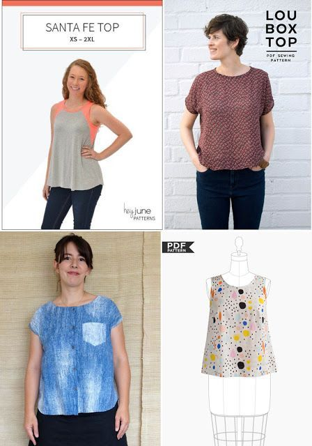 14 Women's Simple Summer Sewing Patterns for July | SweetKM | Bloglovin'
