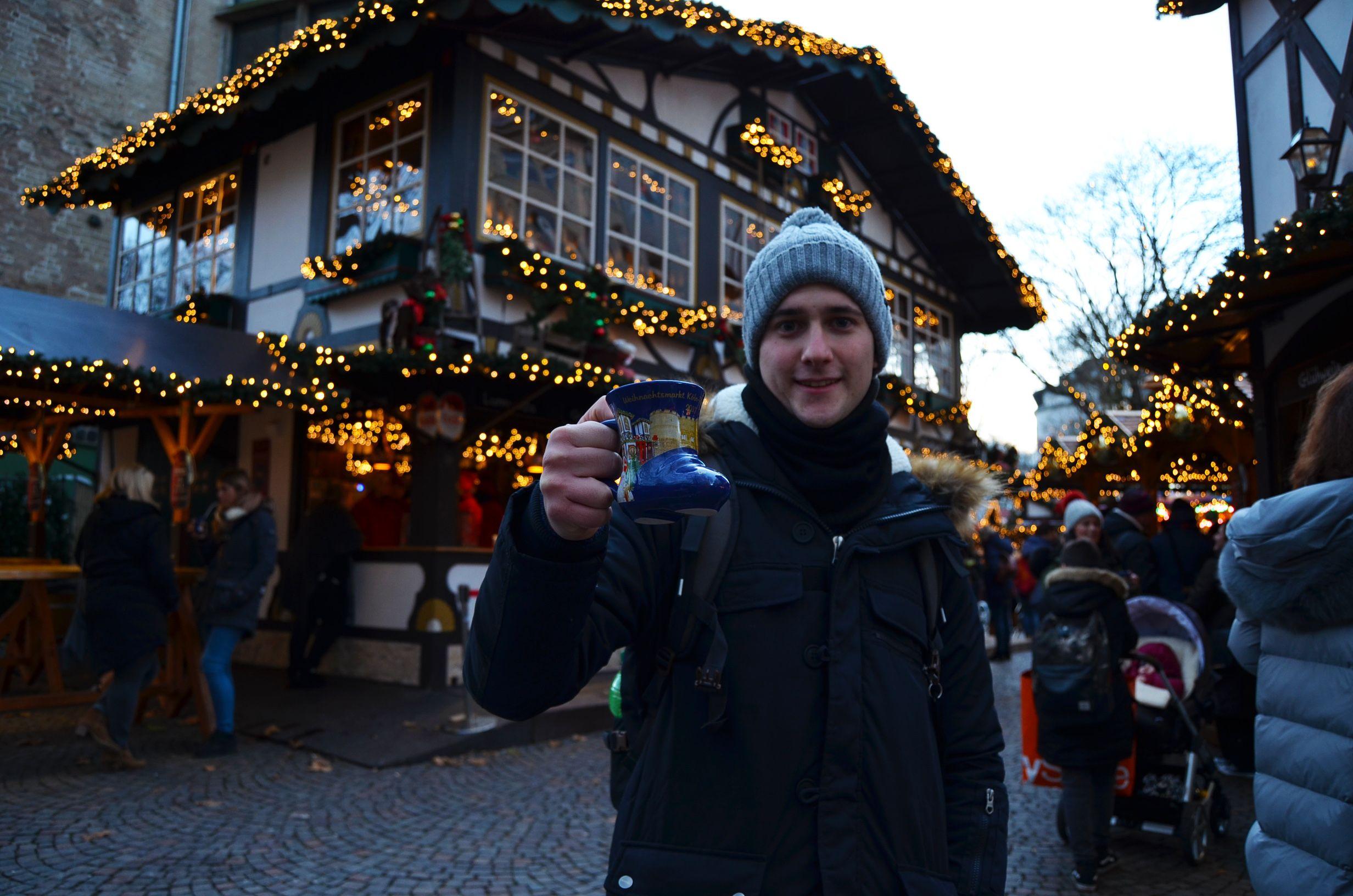 Taza mercado navideño Colonia