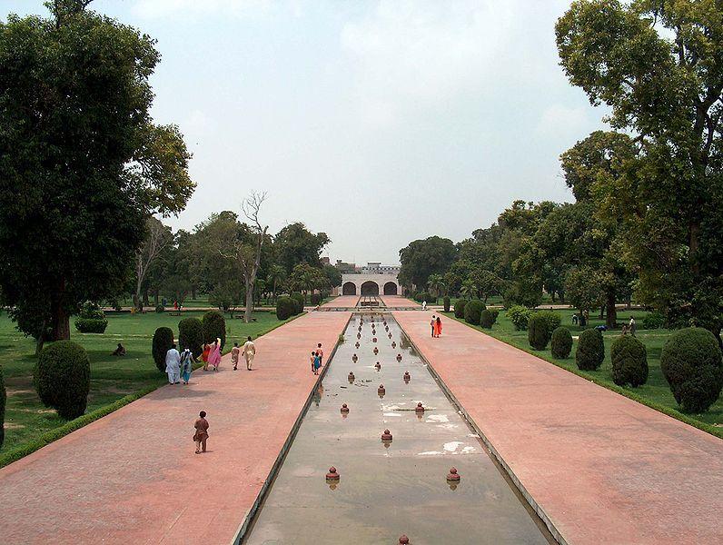 An example of a mughal garden in Lahore, Pakistan Garden