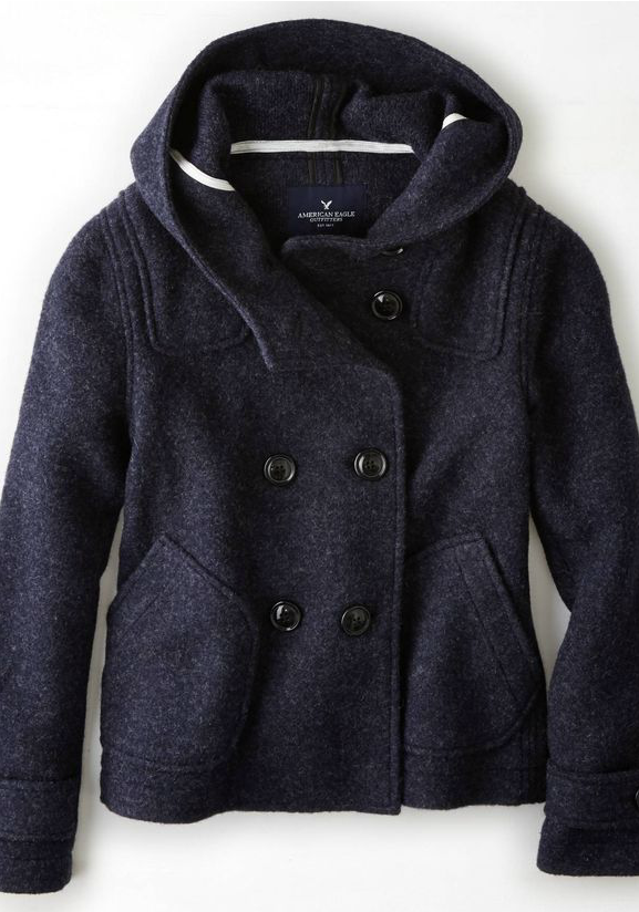 double breasted duffle coat