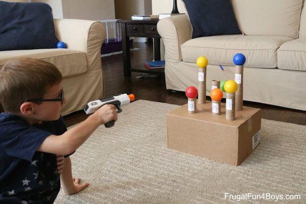 5 juegos para niños en casa | Juegos infantiles, Juego y Bajos