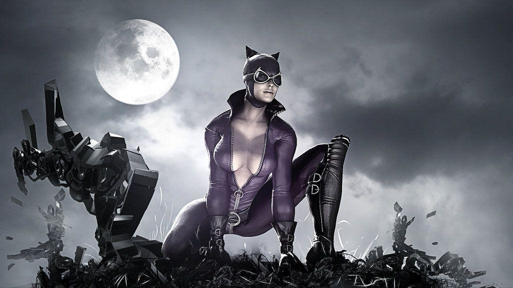 Batman Arkham Asylum CATWOMEN Wallpaper