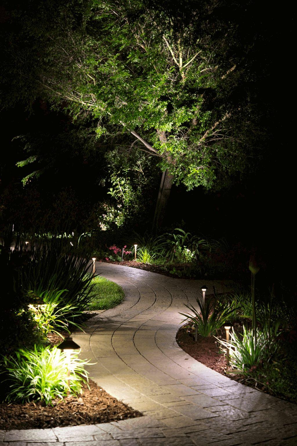 outdoor garden lighting landscape