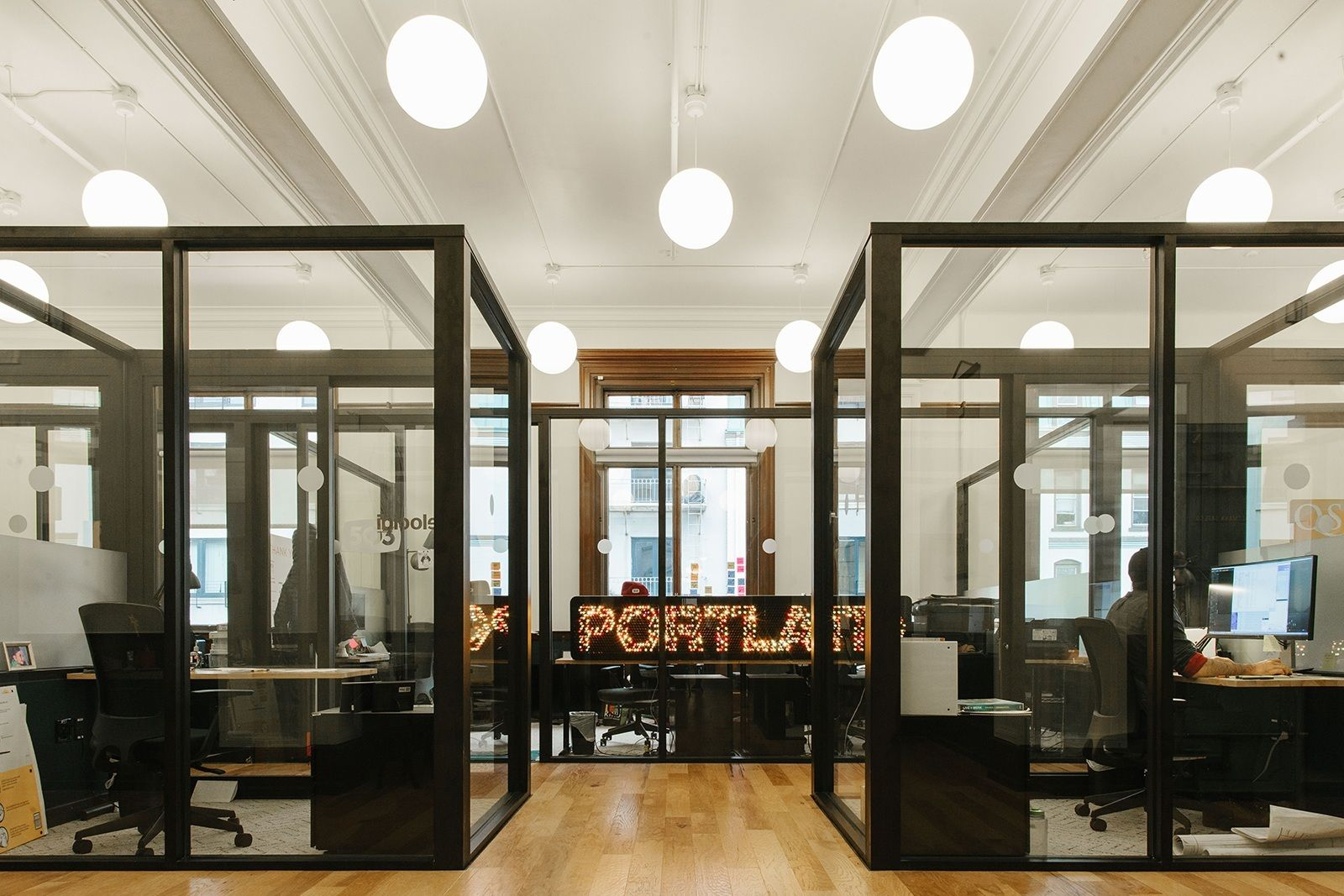 A Tour of WeWork's Portland Coworking Space Coworking