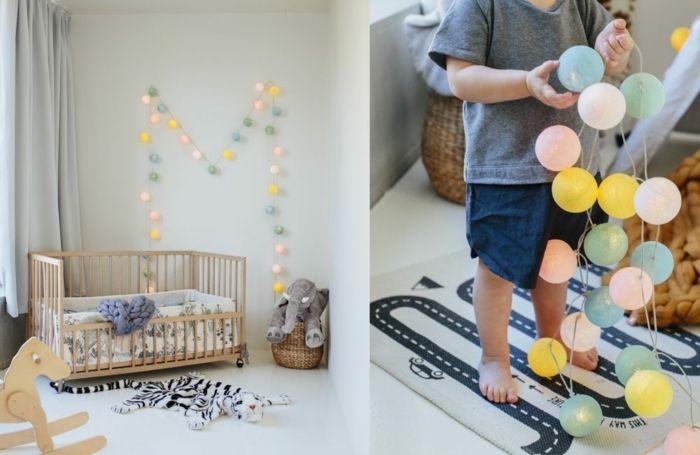 Guirlande lumineuse pour une atmosphère chaleureuse - guirlande lumineuse pour chambre bebe