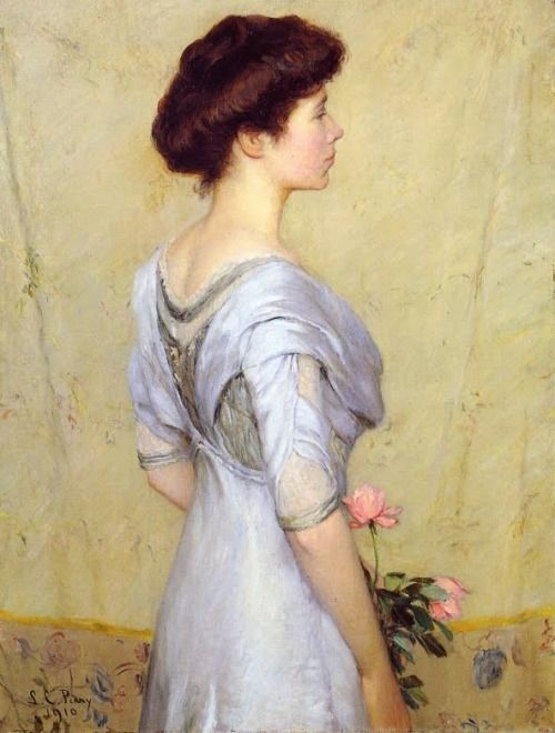 Pink Rose, Lilla Cabot Perry