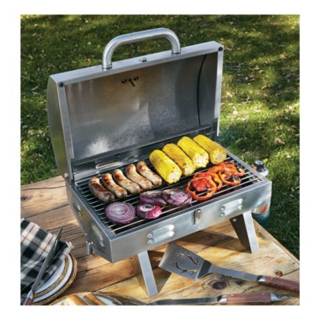 Cabelau0027s Stainless Steel Tabletop Grill | Cabelau0027s Canada
