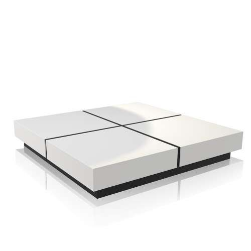 Dean Square Coffee Table Low Large