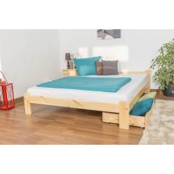 Photo of Youth bed pine solid wood natural A8, incl. Slatted frame – dimensions: 160 x 200 cm Steiner
