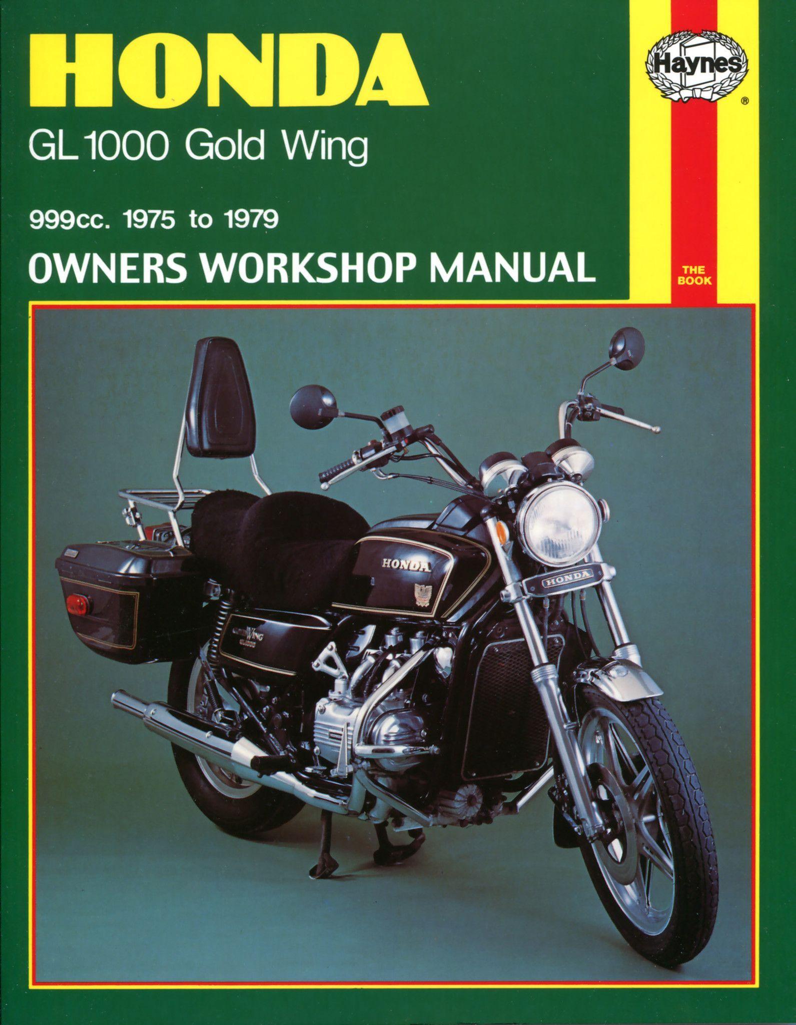 Haynes M309 Repair Manual for 1975-79 Honda GL1000 Gold Wing