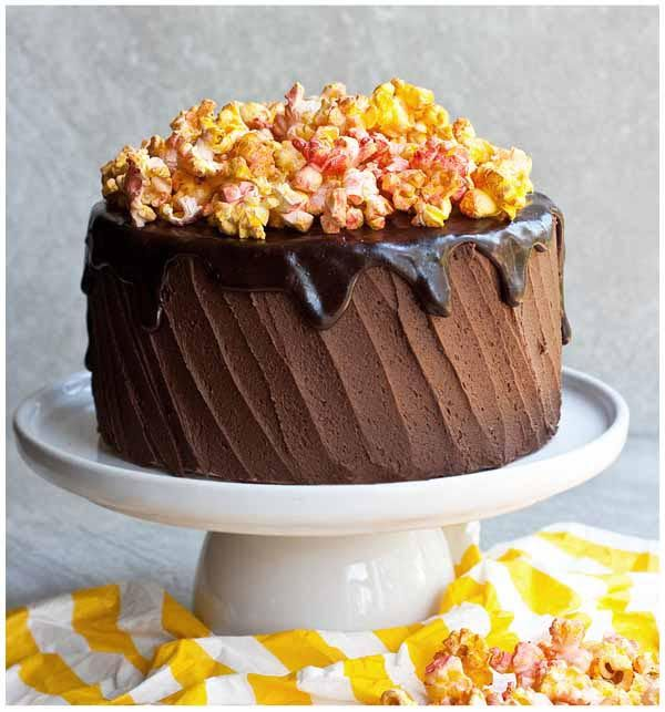 easy cake decorating ideas for beginners sprayed popcorn edibles