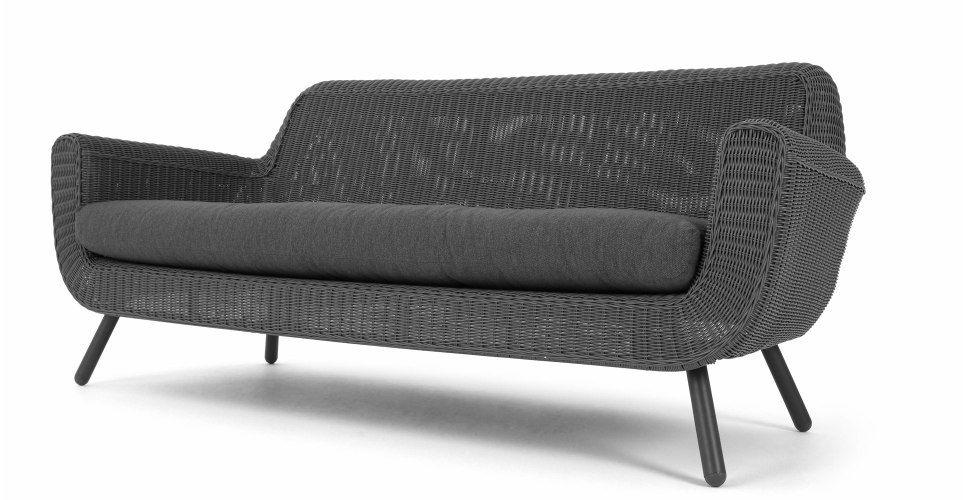 Jonah 3 Zitsbank Voor Buiten Mild Grijs 3 Seater Sofa Sofa Uk Garden Sofa