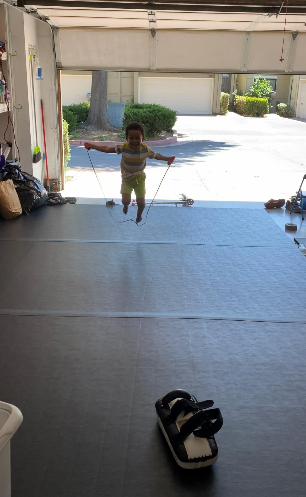 Roll Out MMA and Wrestling Mats 5x10 Ft x 1.25 Inch in
