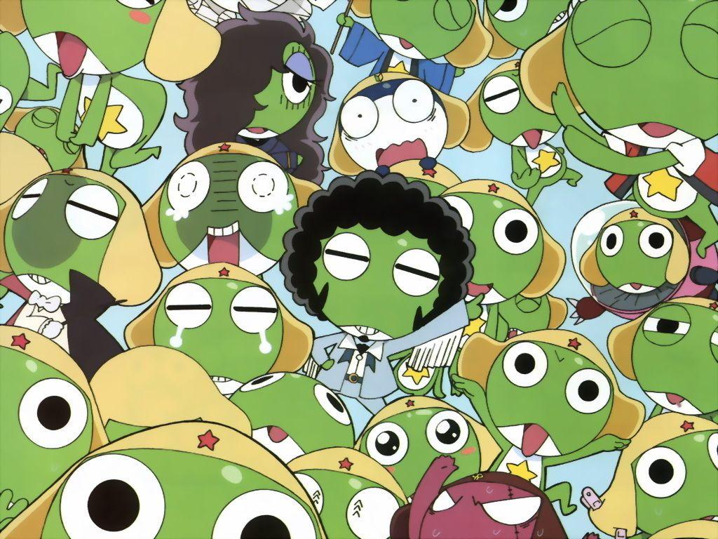 Keroro Gunso Wallpaper Fofura Manga