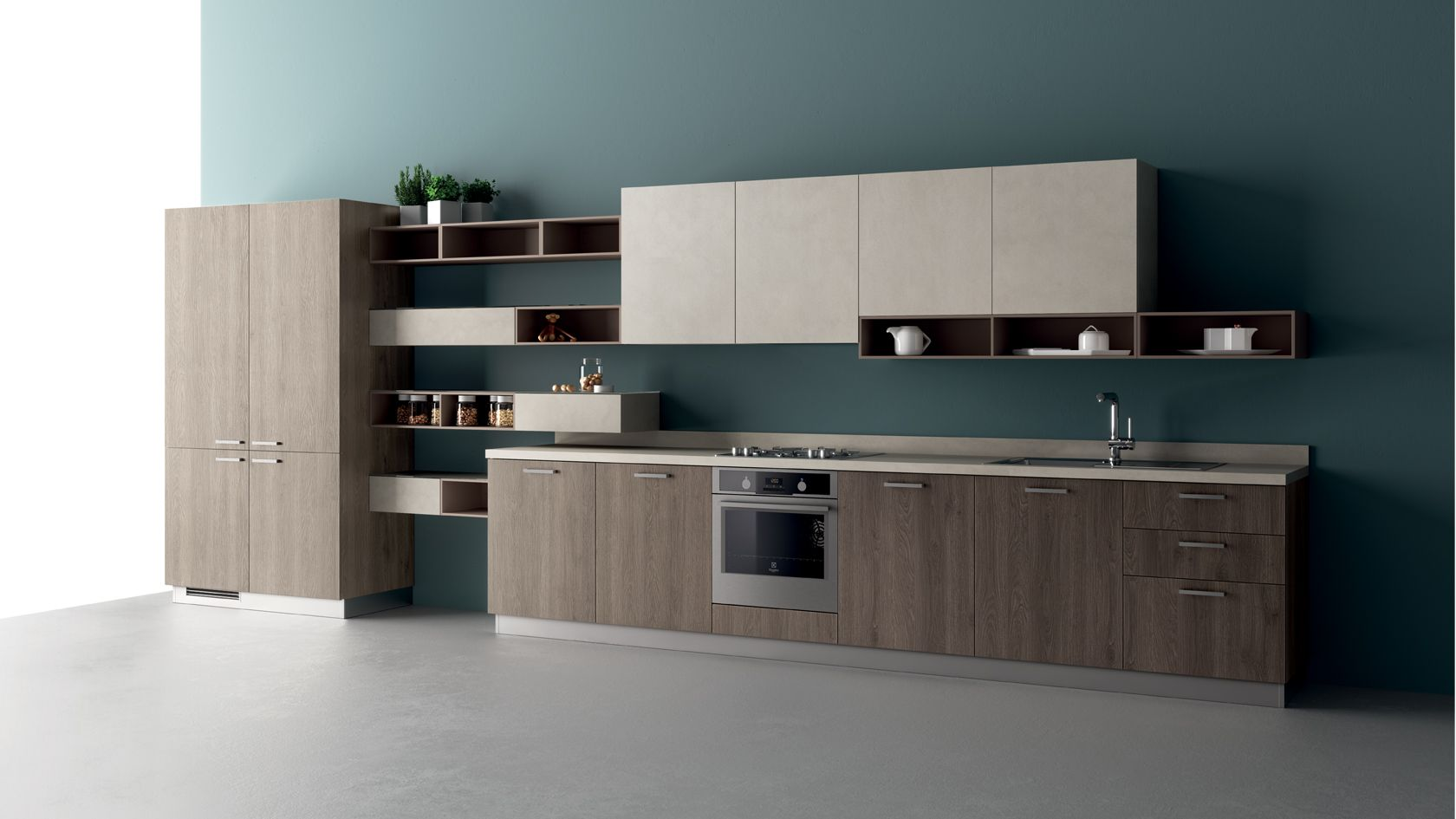 Design Your Kitchen With Appliances Connection Scavolini