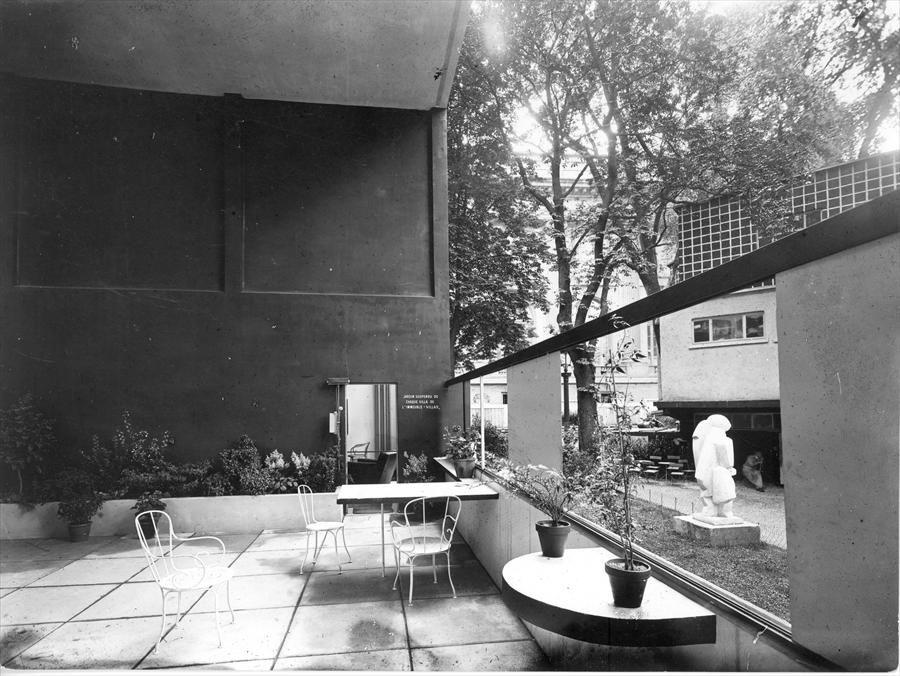 Le pavillon de l 39 esprit nouveau de le corbusier 1925 le - Pavillon residentiel moderne gurney architecte ...