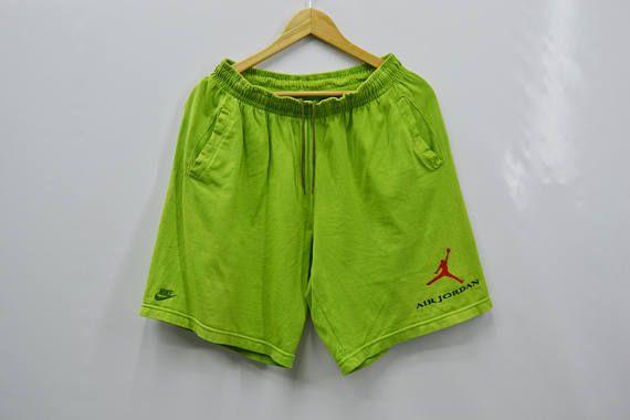 1c243cdfed8aff RARE!!! NIKE Shorts Vintage 90 s Nike Air Jordan Gray Tag Made In Japan  Shorts Pants Size Men s L