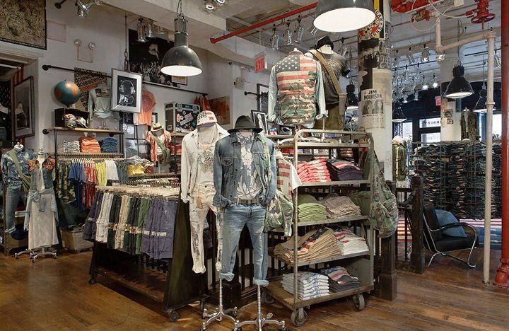 Чудесный магазин Denim   Supply в Нью-Йорке   Магазин джинсов в 2018 ... 7081a5bcde3