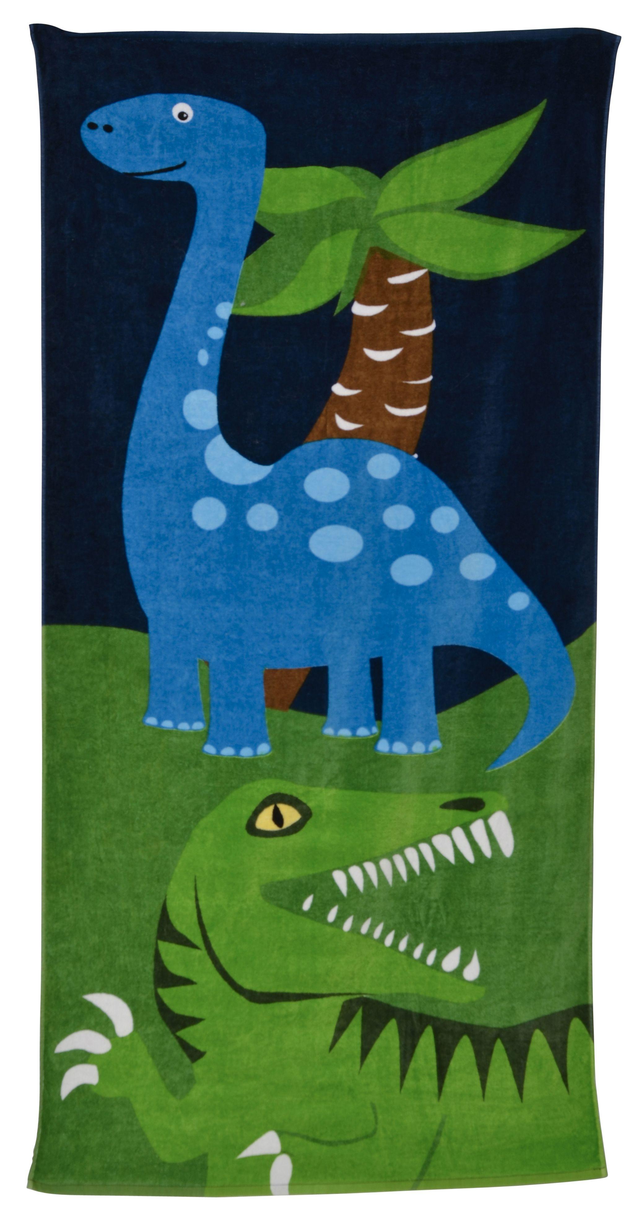 Bobble Art Dinosaur Beach Towel #bobbleart #dinosaur # ...