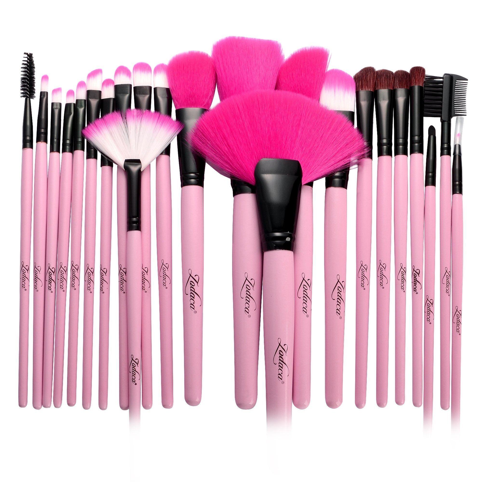 Overstock Com Online Shopping Bedding Furniture Electronics Jewelry Clothing More Pink Makeup Brush Makeup Brush Set Professional Makeup Brush Set