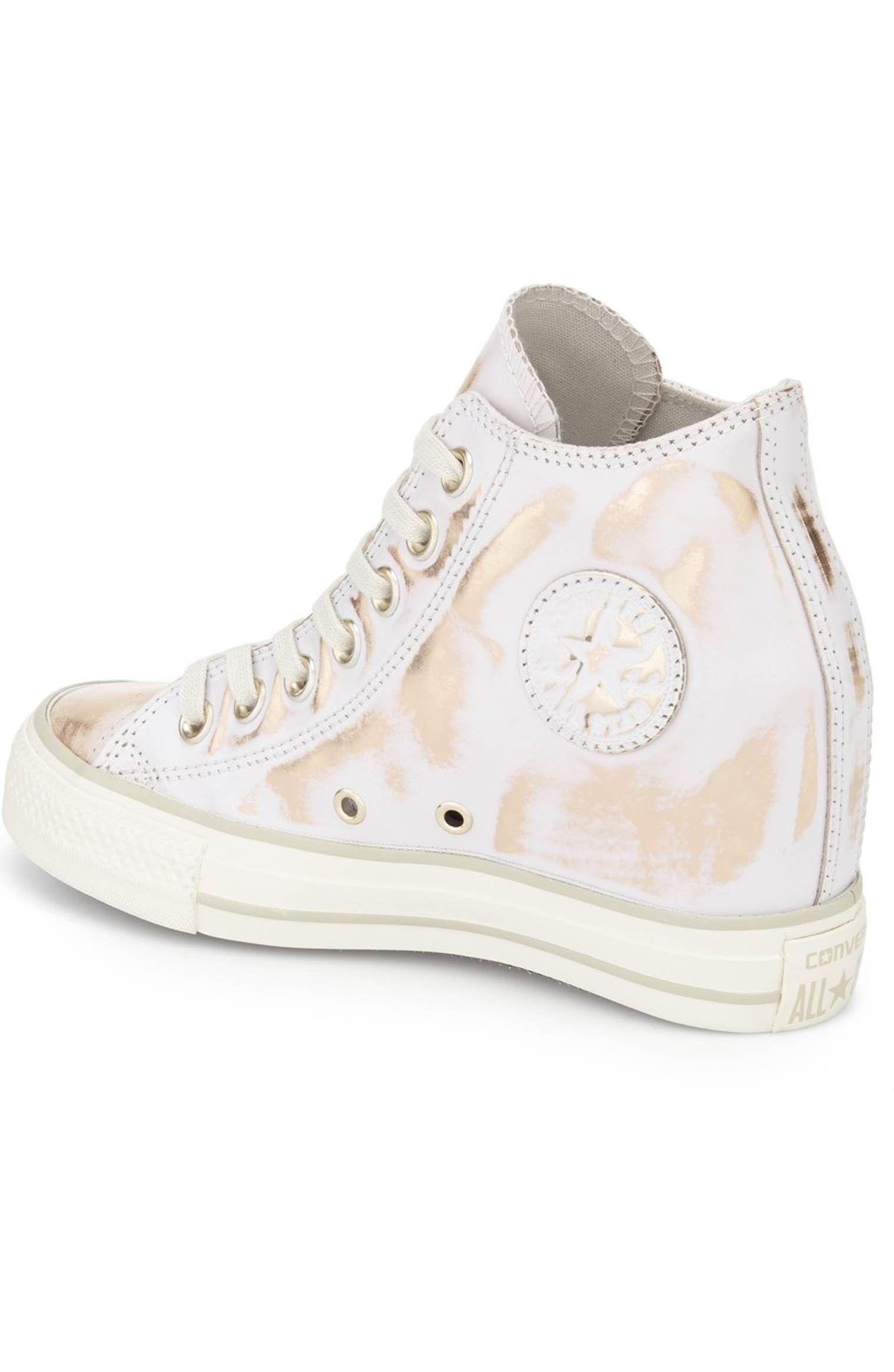 de44775603059e Main Image - Converse Chuck Taylor® All Star® Lux Brush Off Hidden Wedge  High Top Sneaker (Women)