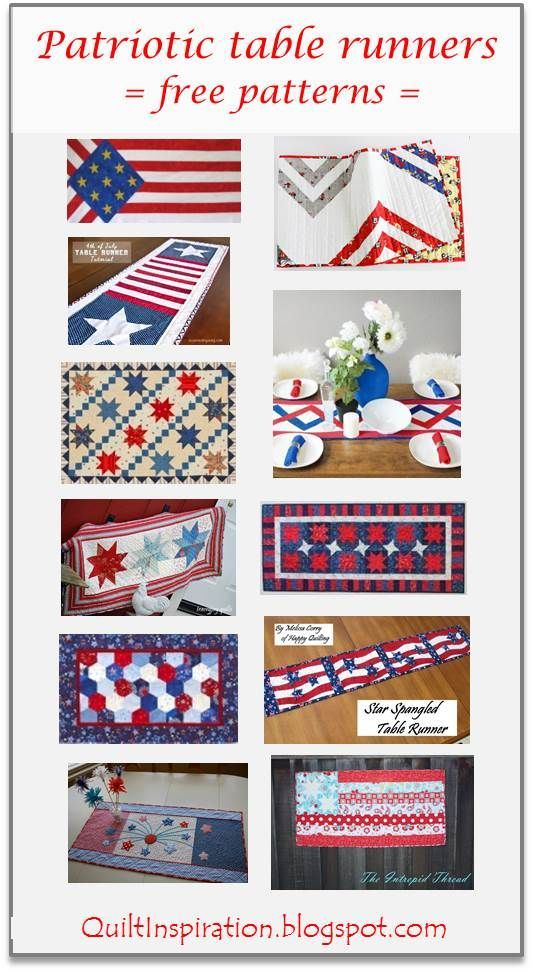 Fantastic Free Pattern Day Patriotic And Flag Quilts Quilted Table Home Interior And Landscaping Eliaenasavecom