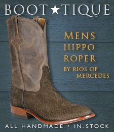6965c40f43a Mens Hippo Roper by Rios of Mercedes - handmade and in-stock ...