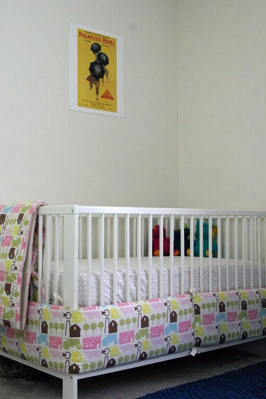 Another Way To Use The Crib Bumper Baby Boy S Nursery Cribs