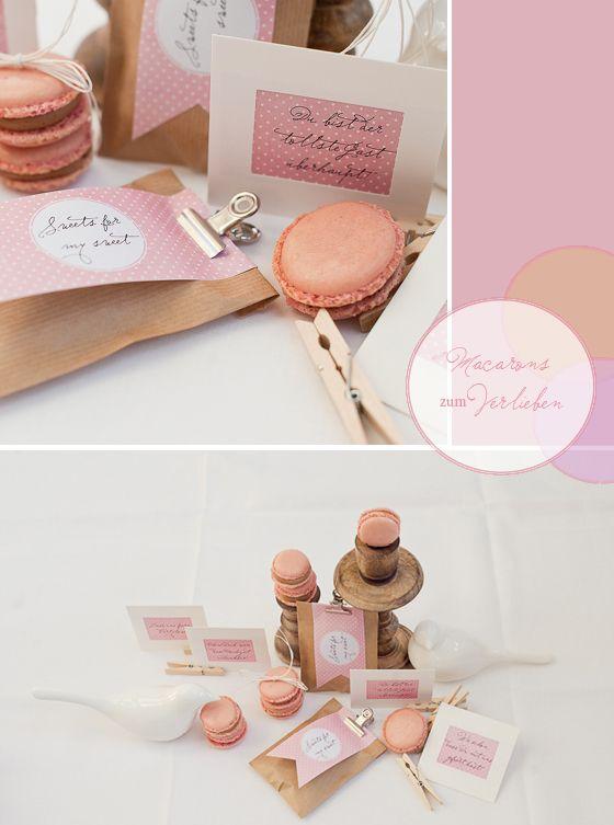 pink macarons for a wedding deco zakka pinterest. Black Bedroom Furniture Sets. Home Design Ideas