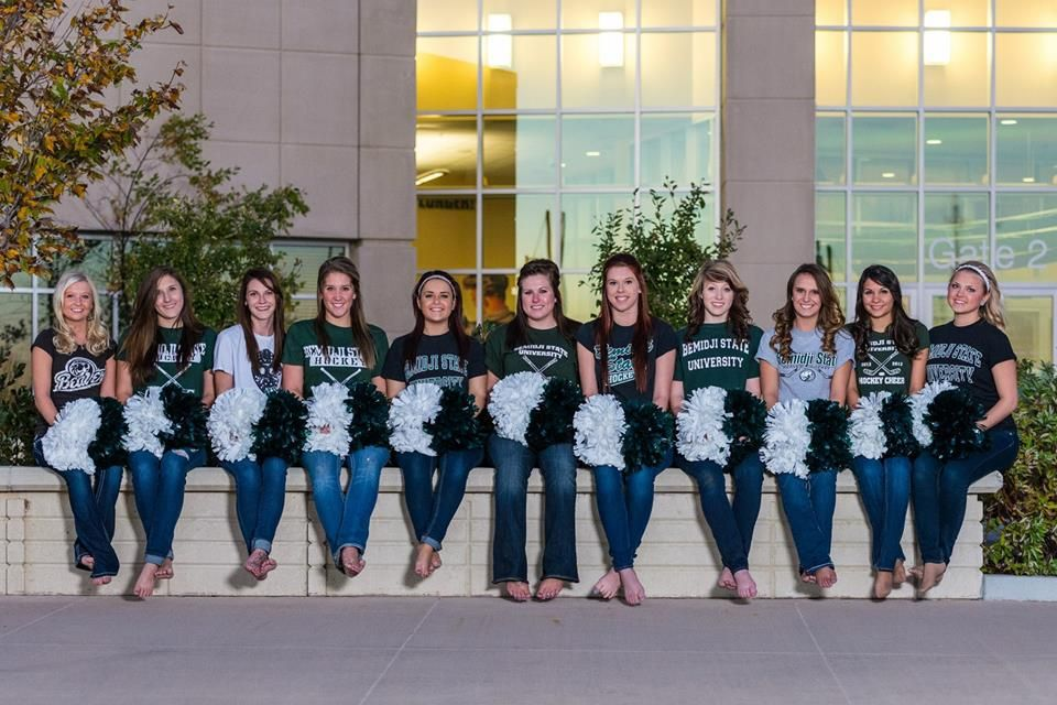 BSU Hockey Cheer Squad 2013-2014